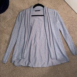 Gray Zara Cardigan Sweater